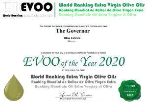 olive oil of the year
